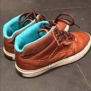 Vans Leather Mid Top OTW RARE Men's Shoes Size 11